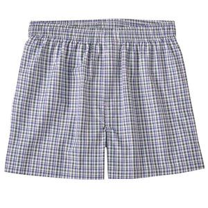Bold Check Cotton Boxer in Green Check by Bills Khakis