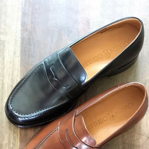 Augusta Loafer in Charcoal Black by Armin Oehler