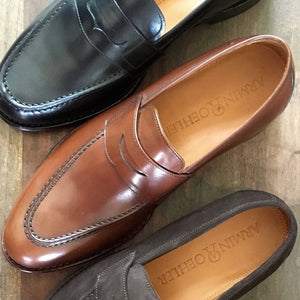Augusta Loafer in Cognac Brown by Armin Oehler