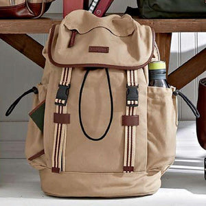 Sloan Backpack in Desert Canvas by Baekgaard