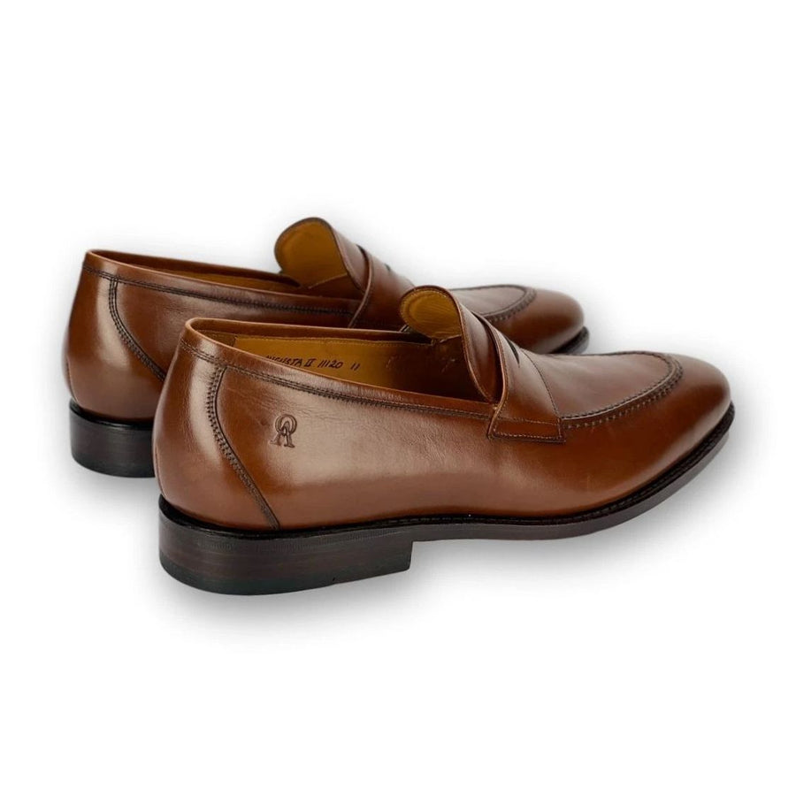 Augusta II Loafer in Cognac Brown by Armin Oehler