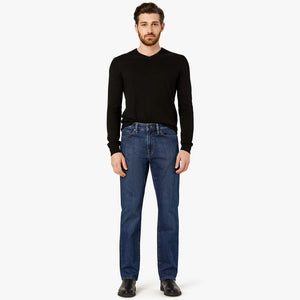 Charisma Relaxed Straight Jeans In Mid Comfort by 34 Heritage