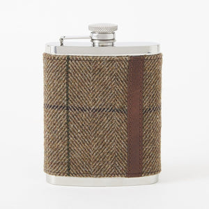 Stainless Steel Flask with Clark Tweed Cover by Baekgaard