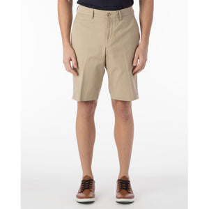 Pima Twill True Khaki Shorts in Khaki by Ballin