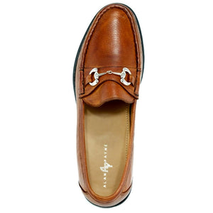 Walker II Genuine Deerskin Bit Loafer in Tan by Alan Payne Footwear