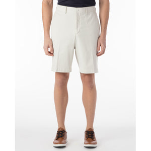 Pima Twill True Khaki Shorts in Stone by Ballin