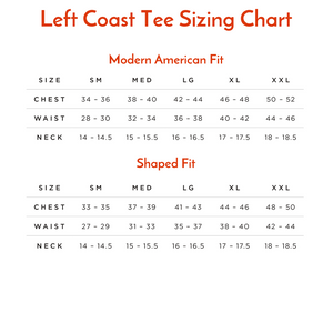Crew Neck Peruvian Cotton Tee Shirt in Maize by Left Coast Tee