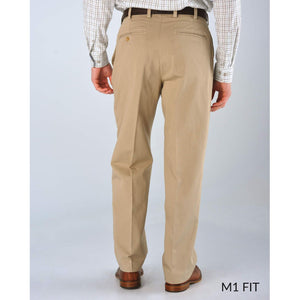 M1 Relaxed Fit Vintage Twills in Khaki by Bills Khakis