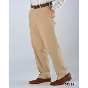 M1 Relaxed Fit Original Twills in Khaki by Bills Khakis