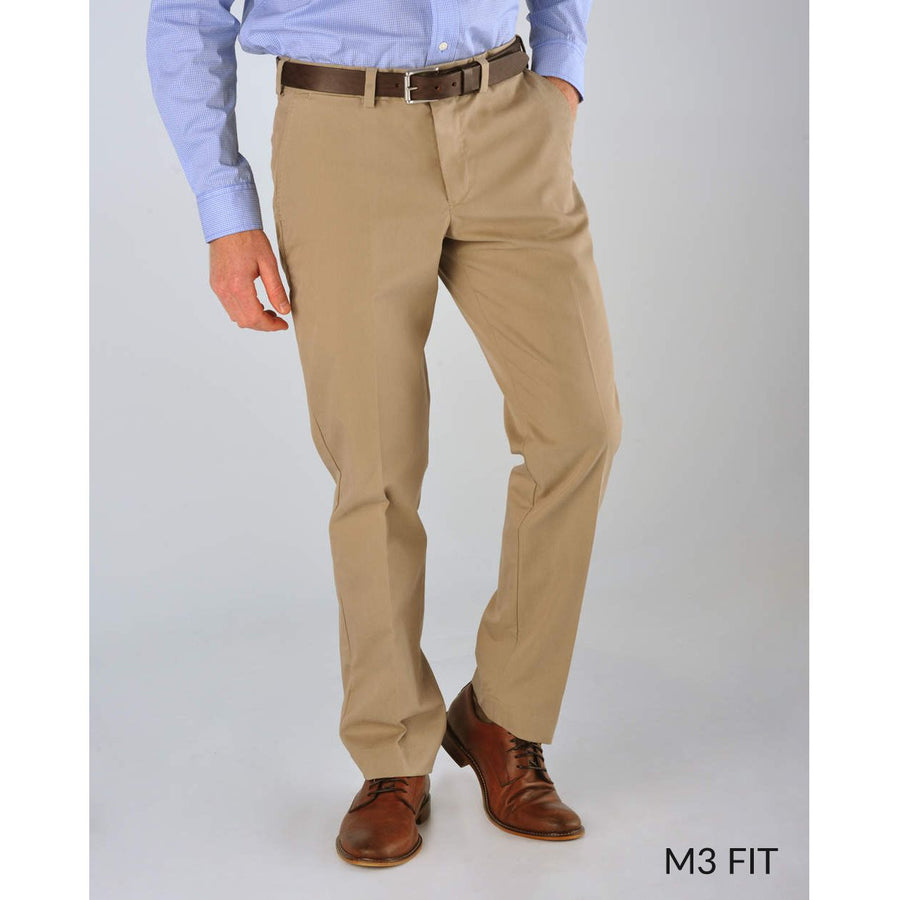 M3 Straight Fit Travel Twills in Khaki by Bills Khakis