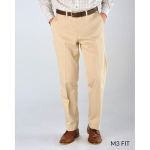 M3 Straight Fit Chamois Cloth Pants in Black by Bills Khakis