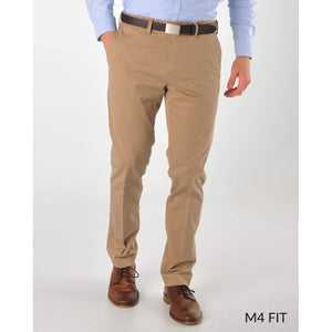M4 Full Rise Slim Fit Supima Stretch Twills in Russet (Sizes 37, 38, and 40) by Bills Khakis