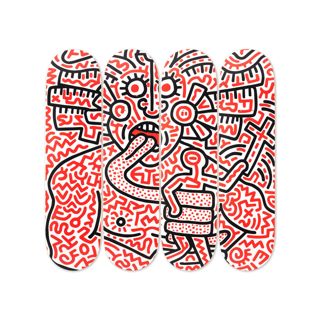 Keith Haring: Man And Medusa