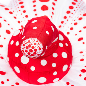 Yayoi Kusama: Large Red & White Pumpkin Plush