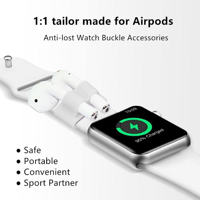 Earphone Clip Holder for Apple Watch Series 1/2/3 (compatible with AirPods 1 & 2) - Amialeurope.com: get the best electronics at the lowest price
