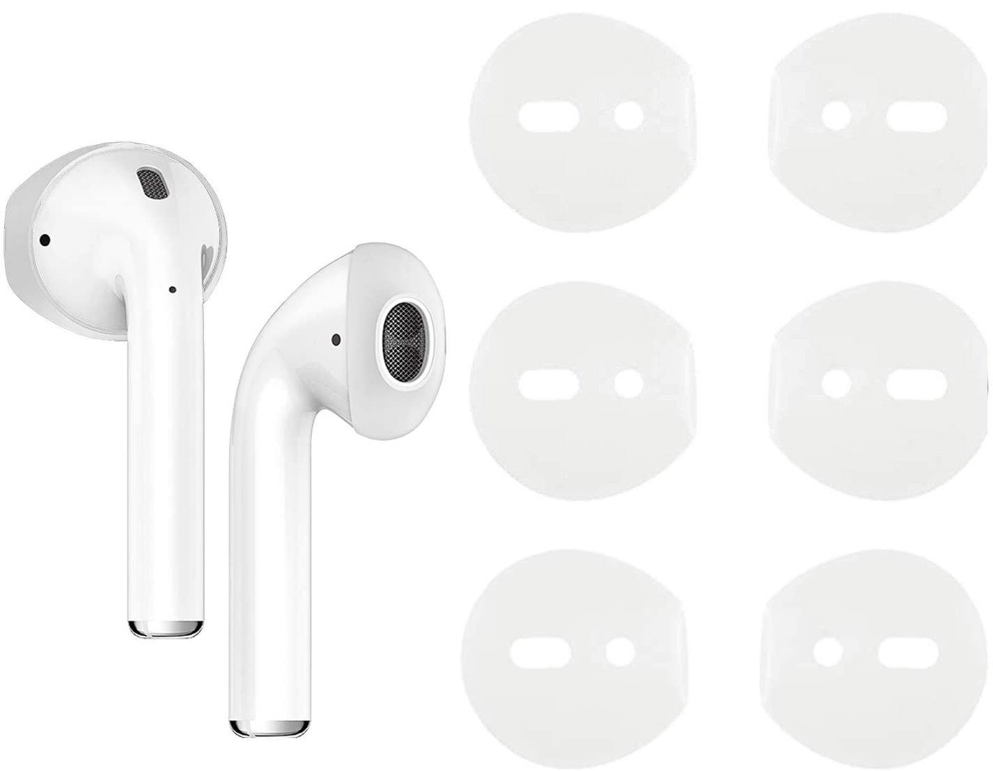 Ear Caps for AirPods 1 & 2 (3 Pairs) Anti-Slip - Amialeurope.com: get the best electronics at the lowest price