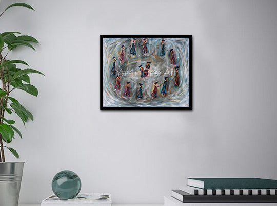 Dancers in Grey (SOLD)