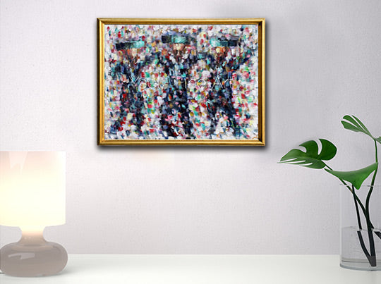 Mosaic dancers 2 (SOLD)
