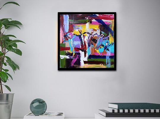 Colorful Judaic Art
