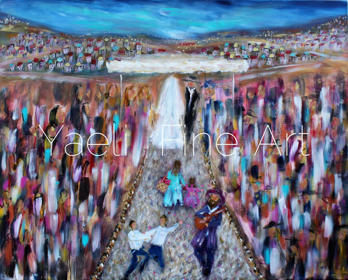 Flower girls - Judaic Art