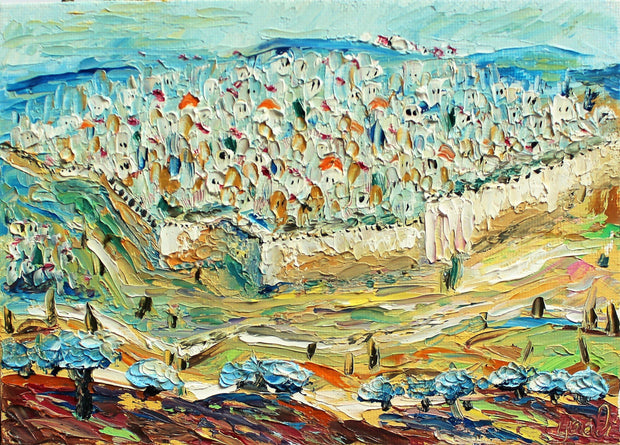 Mini - Jerusalem - Judaic Art
