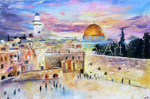 Our Beautiful Kosel (SOLD) - Judaic Art