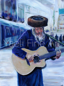 Soulful Jerusalem 1 - Judaic Art