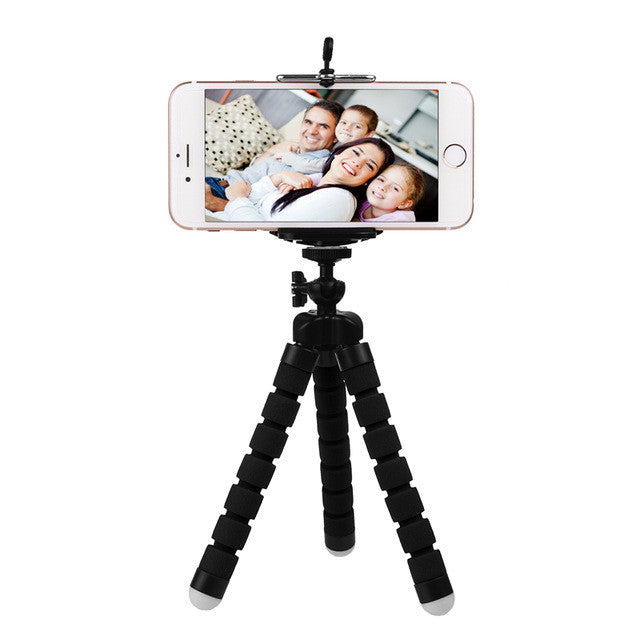 Portable Flexible Tripod with Phone Holder - Veerve