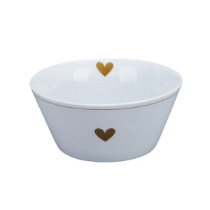 Happy Bowl GOLD HEART