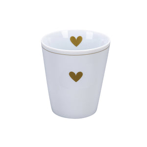Becher GOLD HEART