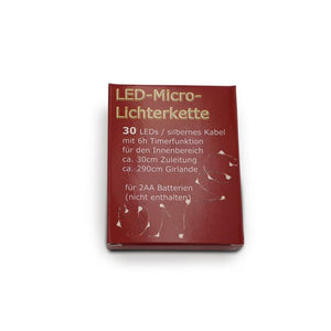 LED-Micro-Lichterkette, 30LEDs