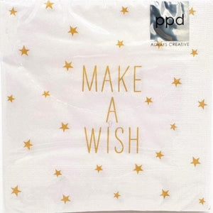 Serviette *MAKE A WISH*