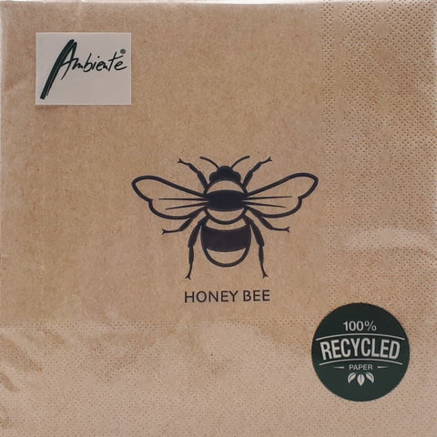 Serviette *HONEY BEE*, recycled