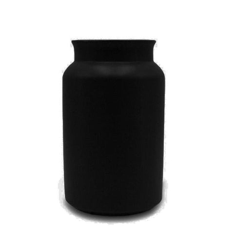 Vase MILK CAN, schwarz