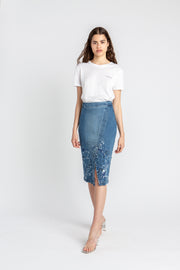 Organic Denim Skirt