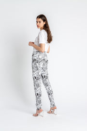 Track Trousers Urban White
