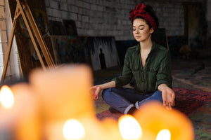 Meditating with a Candle