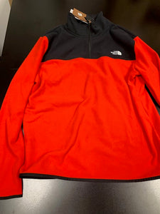 The North Face Half Zip - Black/Red