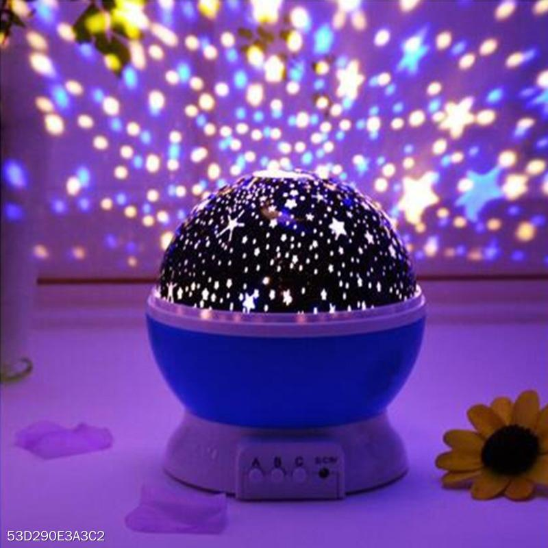 LED Lights  Projection Lamps With Moon And Stars