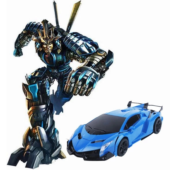 【Christmas Gift】Gesture Sensing & Remote Control Transformation Car Model