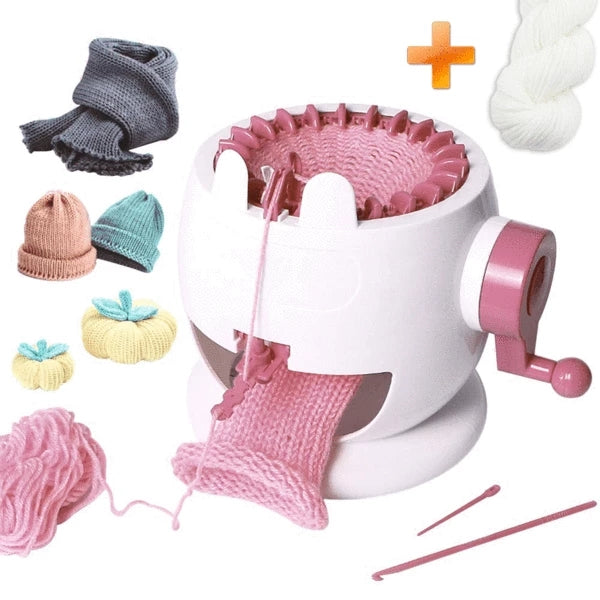DIY KID KNITTED MACHINE TOY+PARENT-CHILD TOY+FREE SHIPPING WORLDWIDE