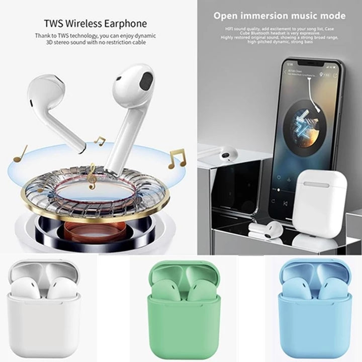 2019 Version TWS Wireless Bluetooth Earphones-Buy Two Free Shipping