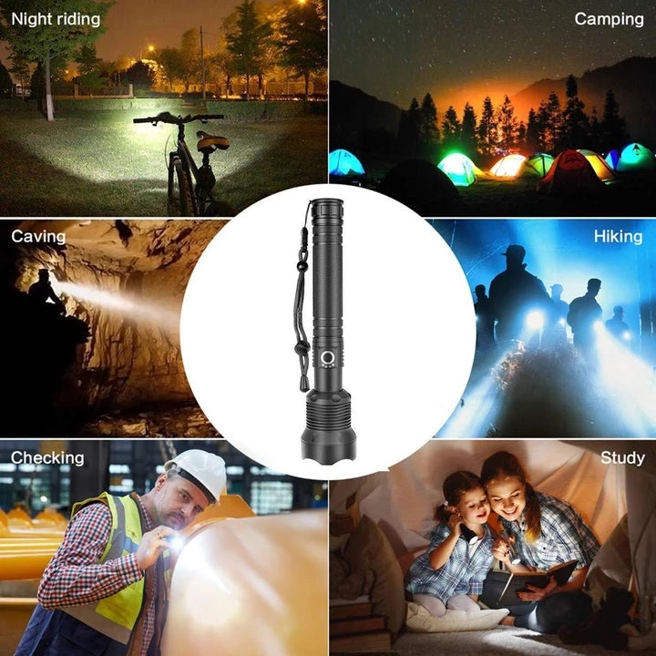 SupFire Shenhuo OEM all kinds of strong light flashlight waterproof outdoor camping hiking trekking night riding flashlight wholesale