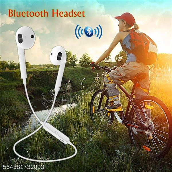 Wireless Bluetooth Neckband Headphones With Heavy Bass