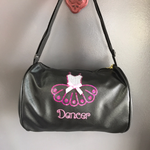 Black Dancer Duffle Bag