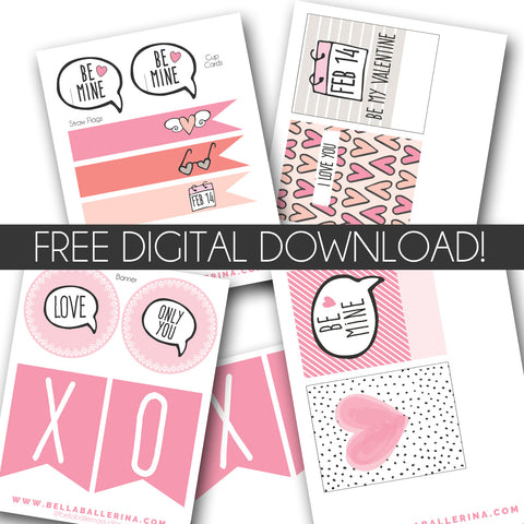 Valentine's Day Digital Downloads
