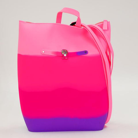 Bubblegum Yummy Gummy Zip Backpack