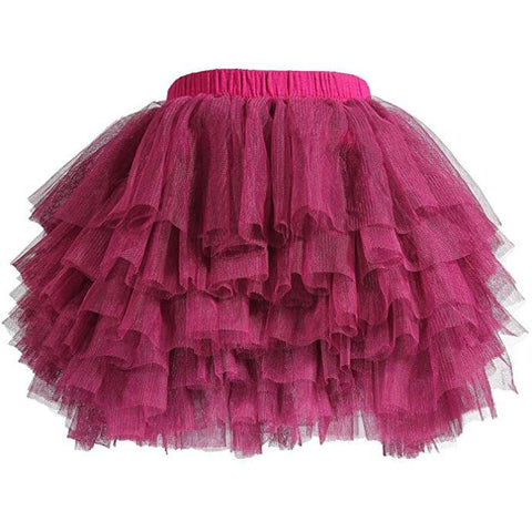 Waterfall Tutu Solid Color