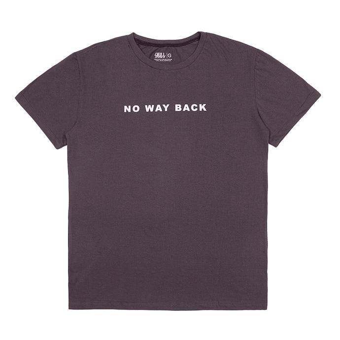 Camiseta No Way Back Chumbo