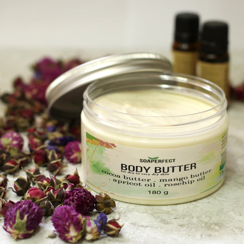 Natural Minty Whipped Body Butter